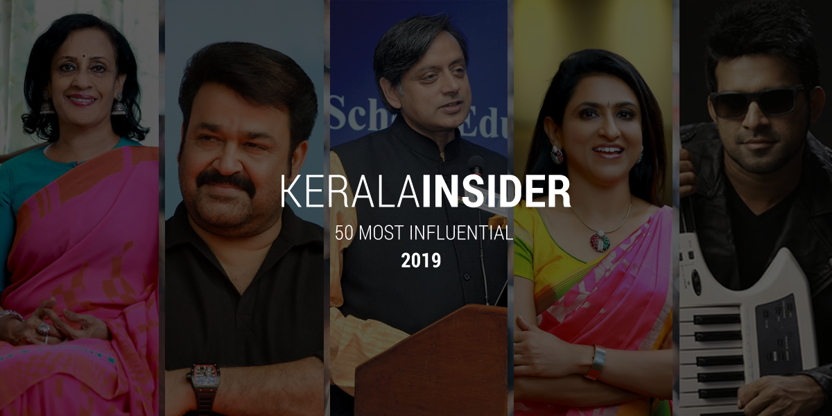 50 most influential people of kerala