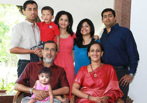 Kochouseph Chittilappilly and Family